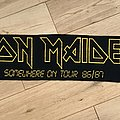 Iron Maiden - Other Collectable - Iron Maiden - Somewhere On Tour 86/87 Scarf