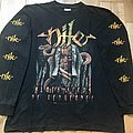 Nile - TShirt or Longsleeve - Nile - Black Seeds Of Vengeance European Tour 2001 LS
