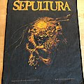 Sepultura - Beneath The Remains 1990 OG Backpatch