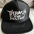 Hirax - Other Collectable - Hirax - Thrash And Destroy Trucker Hat