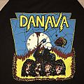 "DANAVA ""At Midnight You Die"" Baseball Sleeve T-Shirt"