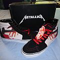 "Metallica ""Kill'em All"" Vans High Top Shoes Other Collectable"