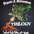 "Vintage Yngwie Malmsteen 1986 ""Hide The Women"" Tour T-Shirt"