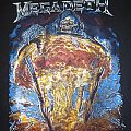 Megadeth 2012 Countdown To Extinction 20th Anniversary Unofficial Bootleg T-Shirt