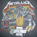 "Vintage 1986 Metallica ""Dedicated to Cliff Burton"" Bootleg T-Shirt"