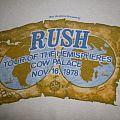 Rush 1978 Cow Palace - San Fancisco, Ca Crew T-Shirt