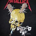 "Vintage 1989 Metallica ""Damage Inc. Tour"" T-Shirt"