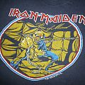 Vintage 1983 Iron Maiden World Piece Tour T-Shirt