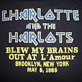 """Vintage 1988 Iron Maiden """"Charlotte and the Harlots"""" L'amour New York TShirt or Longsleeve"""