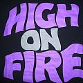"""High on Fire """"Master of Reality"""" T-Shirt"""
