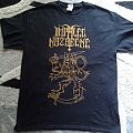 Impaled Nazarene golden shirt