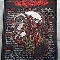 Carcass Tour Patch