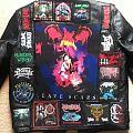 Nearly finished leather jacket.