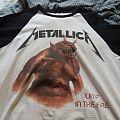 """Metallica """"Jump in the Fire"""" baseball shirt, 2014"""