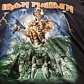 """Iron Maiden """"Caught Somewhere in Time"""" bootleg shirt"""