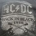 "AC/DC ""Back in Black"" long sleeve"