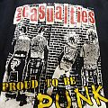 """The Casualties, """"On The Front Line"""" tour shirt, 2004"""