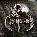 "Other Collectable - OBITUARY ""Skull"" Pin Badge"