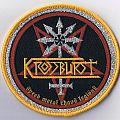 "Patch - KROSSBURST ""Speed Metal Chaos Legiöns"" woven Patch (DIE-HARD Tape Edition)"