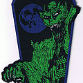 Black Force - Patch - Black Force - Spirit Of Ancient Writings official shape Patch
