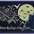 """CRUEL FORCE """"Under The Sign Of The Moon"""" official woven Patch"""