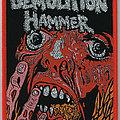 Demolition Hammer - Tortured Existence woven Patch