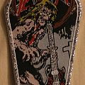 Slayer coffin shaped patch