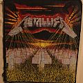 """Metallica """"Master of Puppets"""" back patch"""