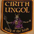 "Cirith Ungol ""King of the Dead"" official patch yellow border"
