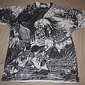 "Pushead ""Cleanse The Bacteria"" all over print shirt"