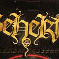 Beherit logo back patch