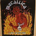 """Metallica """"Jump In The Fire"""" back patch"""
