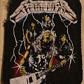 "Metallica ""Ride The Lightning"" patch"