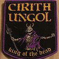 "Cirith Ungol ""King of the Dead"" official patch purple border"