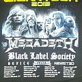 Gigantour 2013 Bootleg Shirt