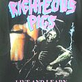 """Righteous Pigs - TShirt or Longsleeve - Righteous Pigs """"Live and Learn"""""""