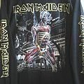 """Iron Maiden - TShirt or Longsleeve - Iron Maiden """"Somewhere in Time"""" Longsleeve."""