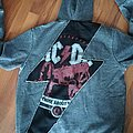 AC/DC - For Those About To Rock Zip Hoodie Hooded Top