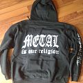 U.D.O. - Metal Is Our Religion Hooded Top