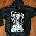 Dark Fortress - The Spider In The Web Hooded Zipper Hooded Top