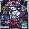Midnight - Battle Jacket - My Vest/Kutte Back