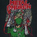 Metal Church Fake Healer woven Patch