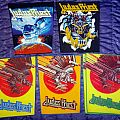 Judas Priest back patch collection