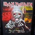 Iron Maiden Backpatch A Real Live One