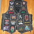 Leather Battle Vest - old skool