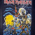 Iron Maiden - Life After Death back patch