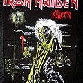 Iron Maiden back patch collection