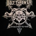 Bolt Thrower - Overtures Of War Tour 2014 TShirt or Longsleeve