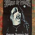 Cradle Of Filth Supreme Vampyric Evil back patch