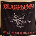 Blasphemy - Other Collectable - Blasphemy 'Black Metal Skinheads' flag